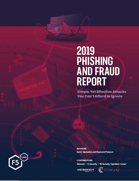 2019 PHISHING AND FRAUD REPORT