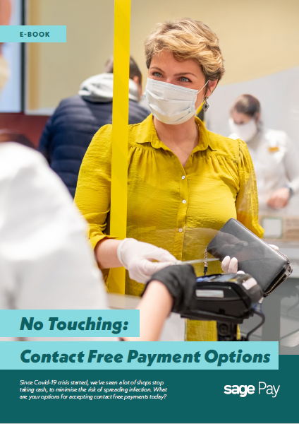 No Touching: Contact Free Payment Options