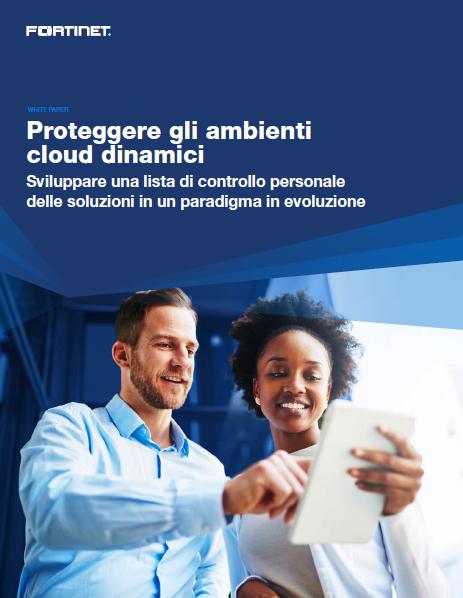 Proteggere gli ambienti cloud dinamici