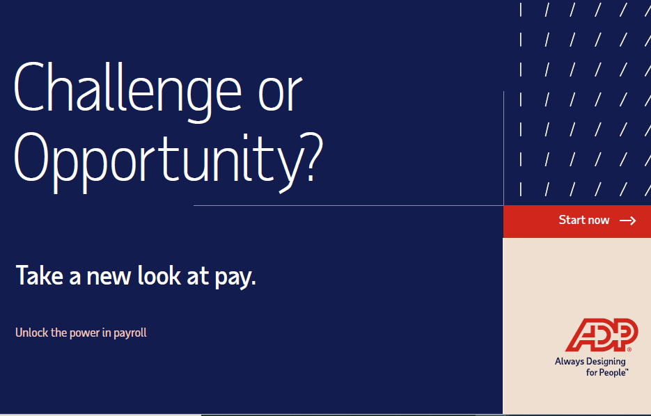 Challenge or Opportunity? Take a new look at pay