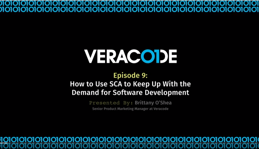 How To Video: How to Use SCA to Keep up with the Demand for Software