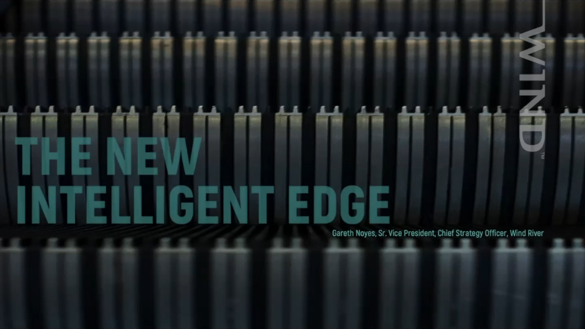 The new intelligent edge – video
