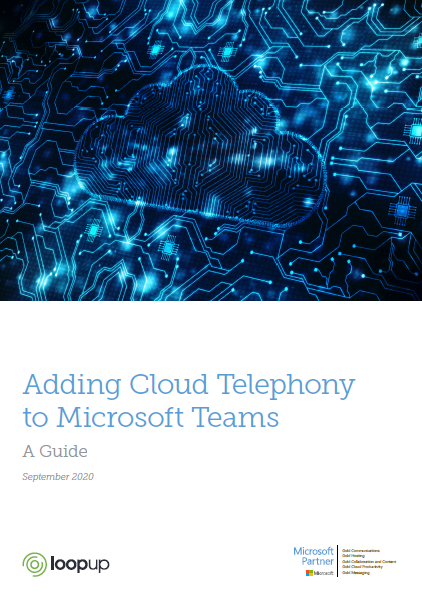 Adding Cloud Telephony to Microsoft Teams
