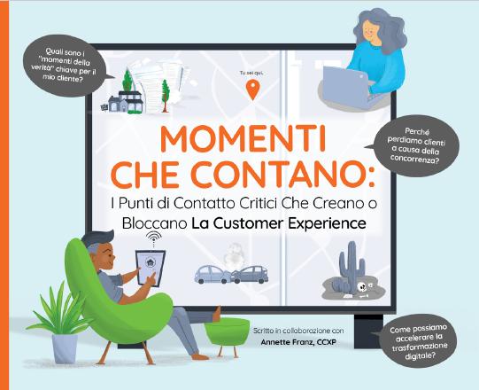 Momenti Che Contato: I Punti di Contatto Critici Che Creano O Bloccano La Customer Experience