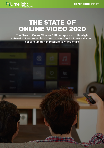 THE STATE OF ONLINE VIDEO 2020