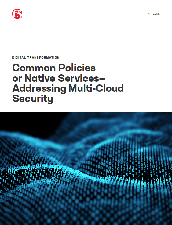 Common Policies or Native Services— Addressing Multi-Cloud Security