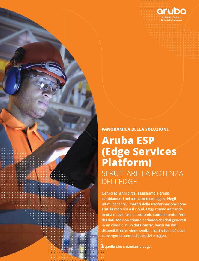 Aruba ESP. Sfruttare la potenza dell'Edge