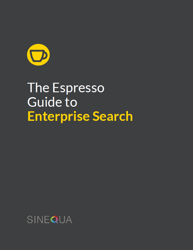The Espresso Guide to Enterprise Search