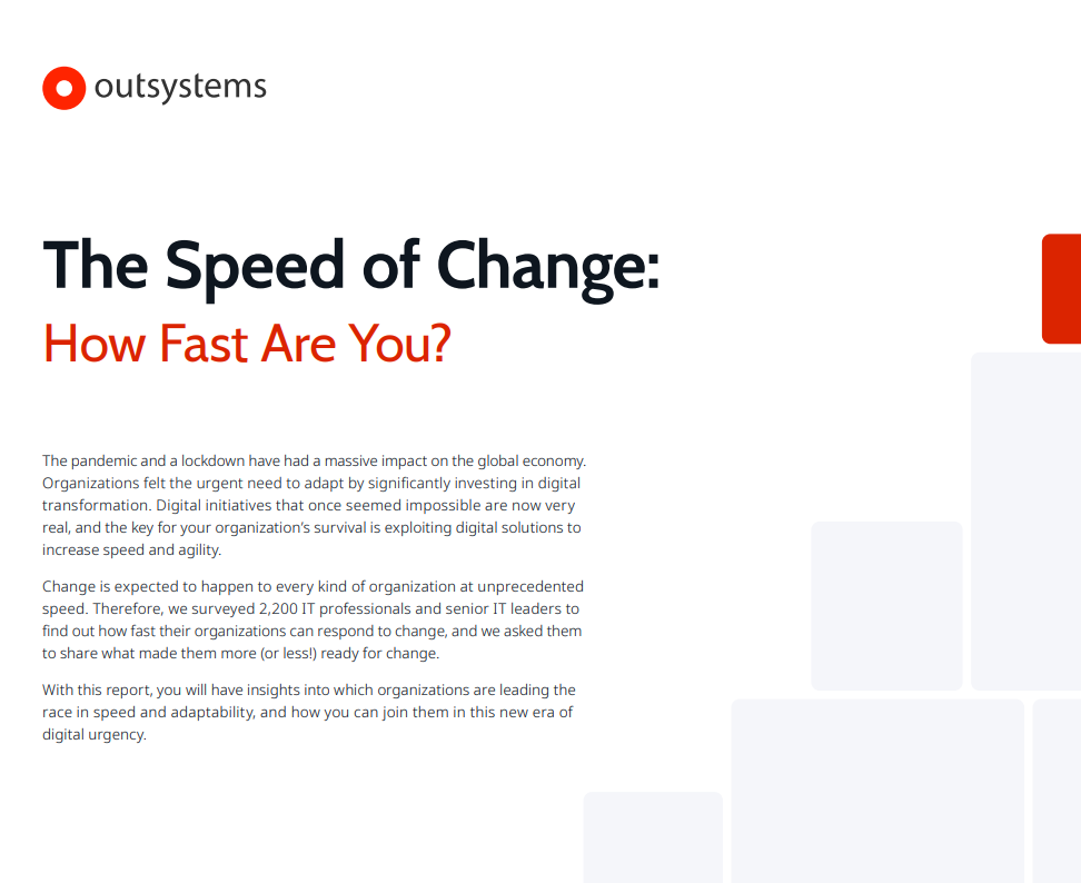 The Speed of Change: How Fast Are You?