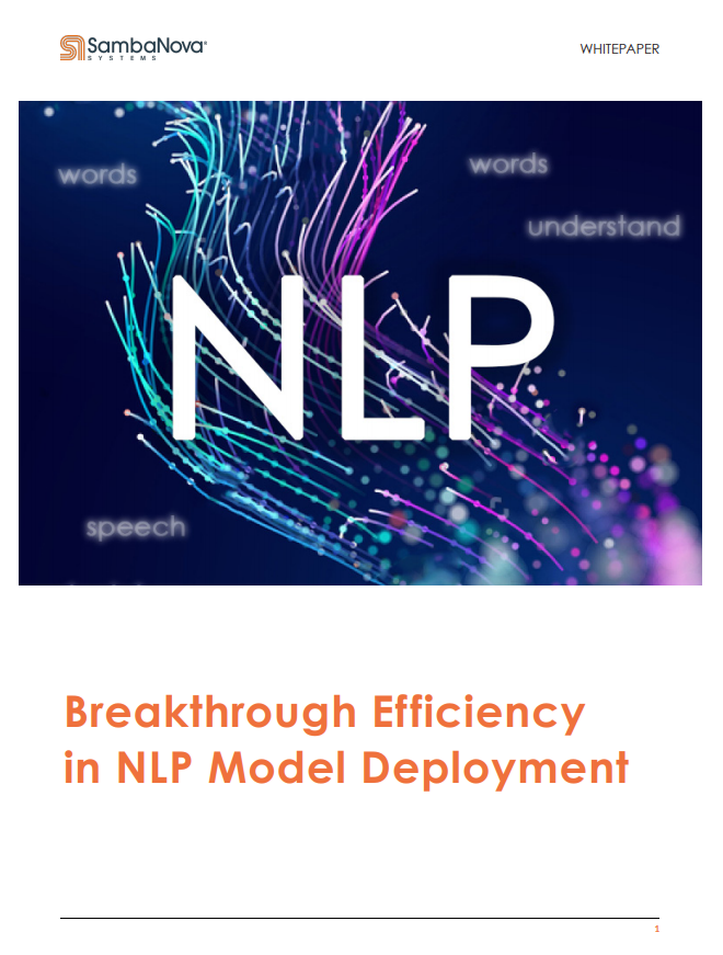 Breakthrough Efficiency in NLP Model Deployment