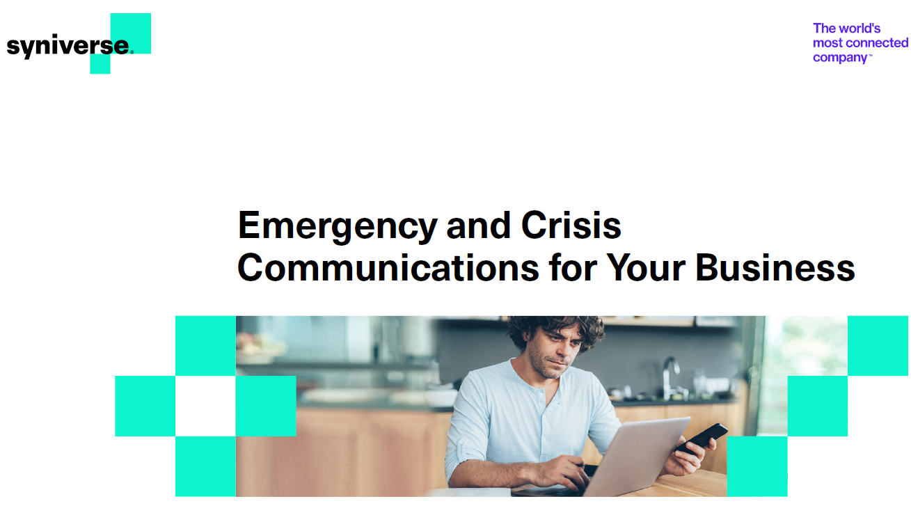 Emergency and Crisis Communications for Your Business