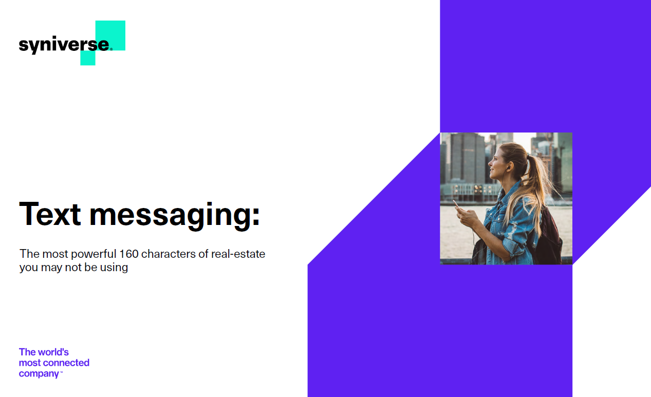 Text Messaging: The Most Powerful 160 Characters of Real Estate You May Not Be Using
