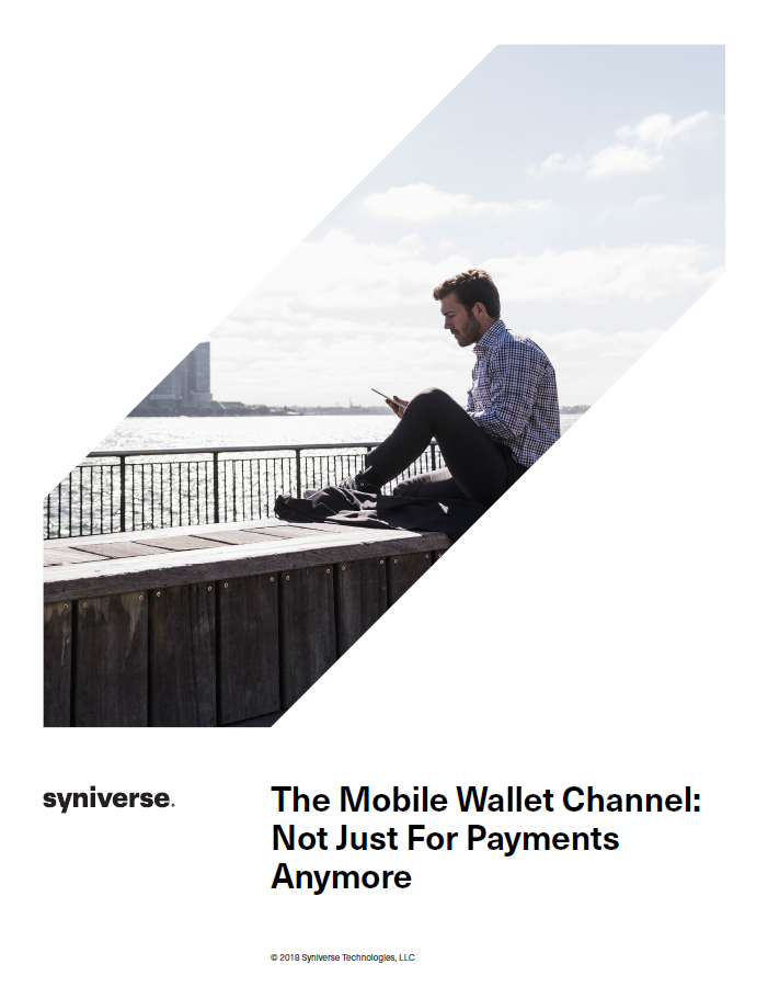The Mobile Wallet Channel: Not Just For Payments Anymore