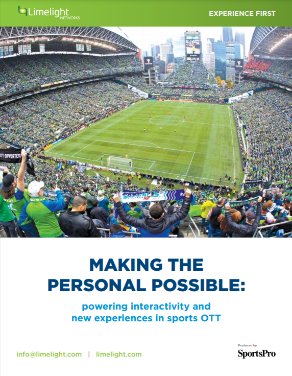 Making the personal possible: powering interactivity and new experiences in sports OTT