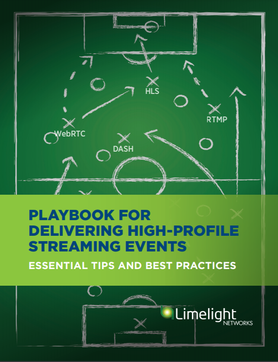 Playbook for delivering high-profile streaming events