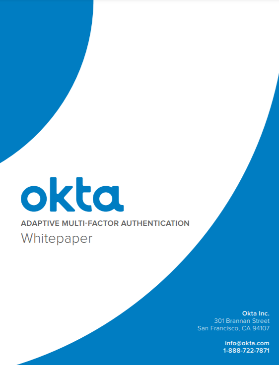ADAPTIVE MULTI-FACTOR AUTHENTICATION