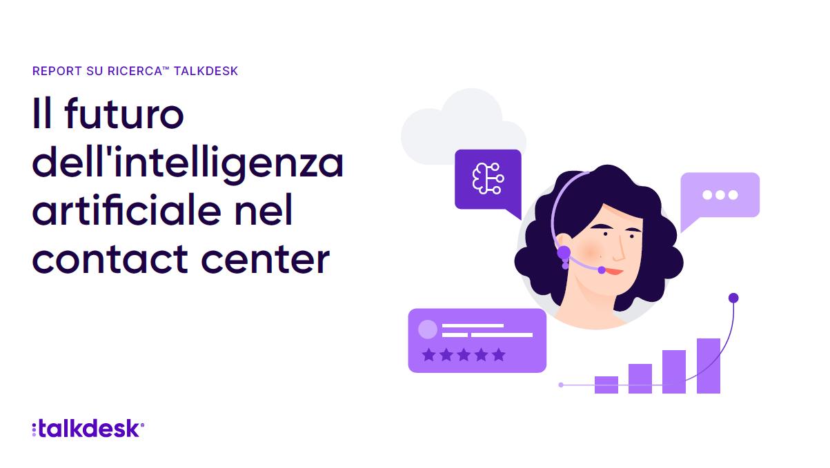 Il futuro dell'intelligenza artificiale nel contact center