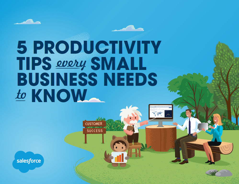 5 Productivity tips every small business needs to know