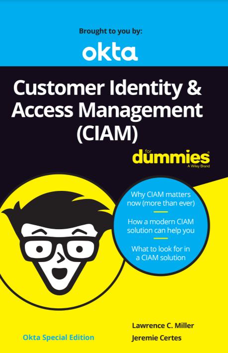 Customer Identify & Access Management (CIAM)