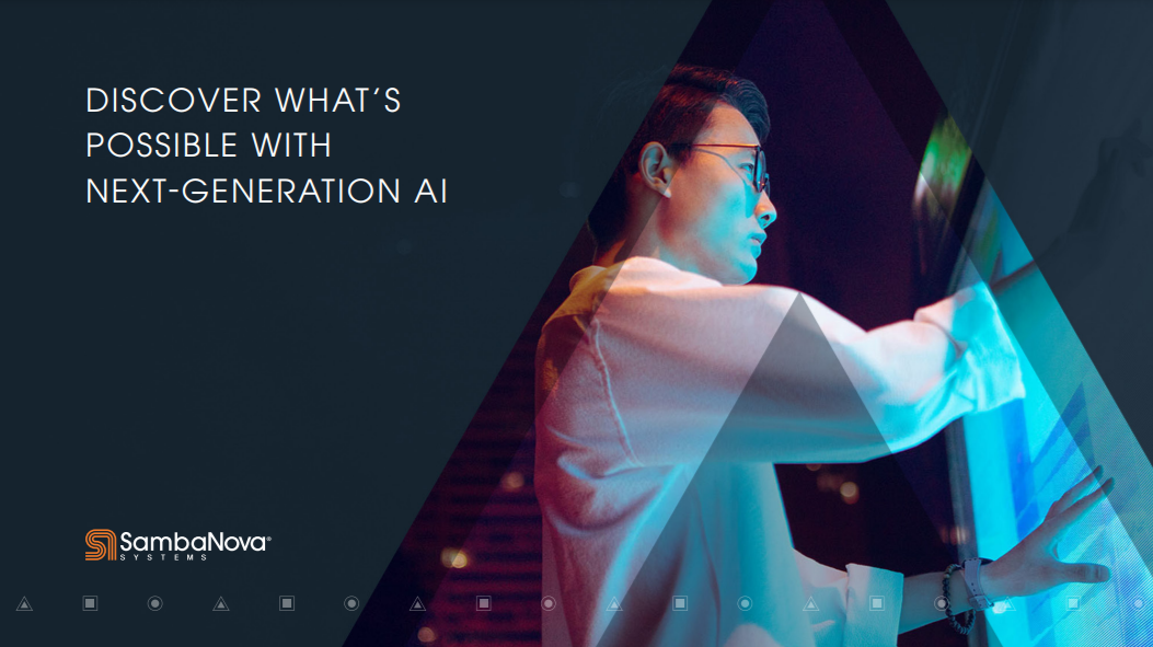 DISCOVER WHAT'S POSSIBLE WITH NEXT-GENERATION AI