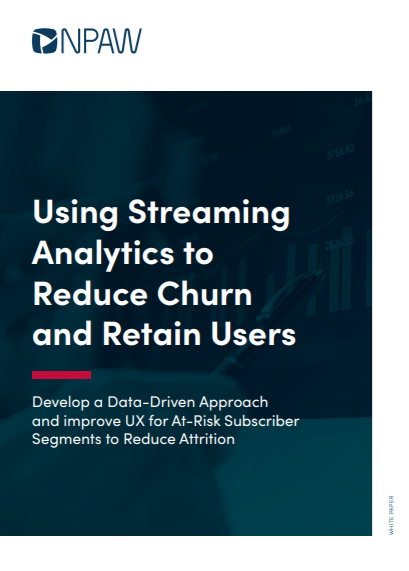 Using Streaming Analytics to Reduce Churn and Retain Users