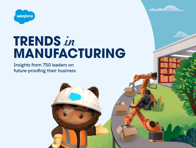 Trends in manufacturing: Insights from 750 leaders on future-proofing their business