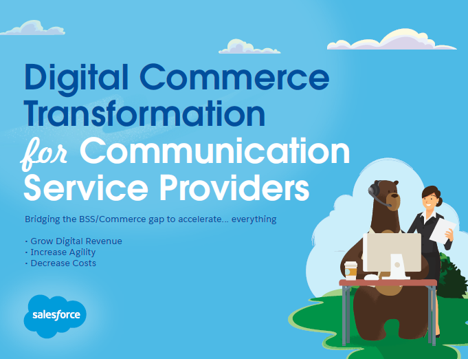Digital Commerce Transformation for Communication Service Providers